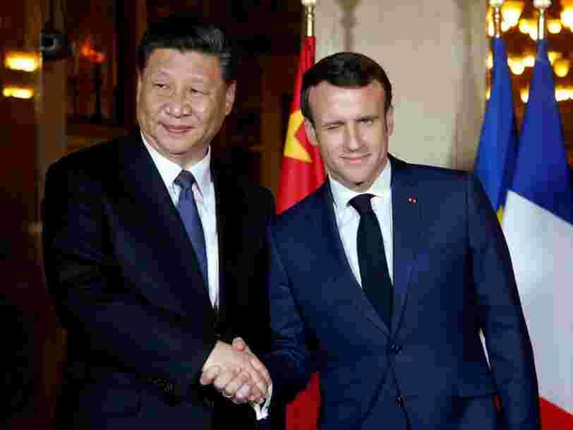 Pourquoi Emmanuel Macron va parler de Huawei avec Xi Jinping