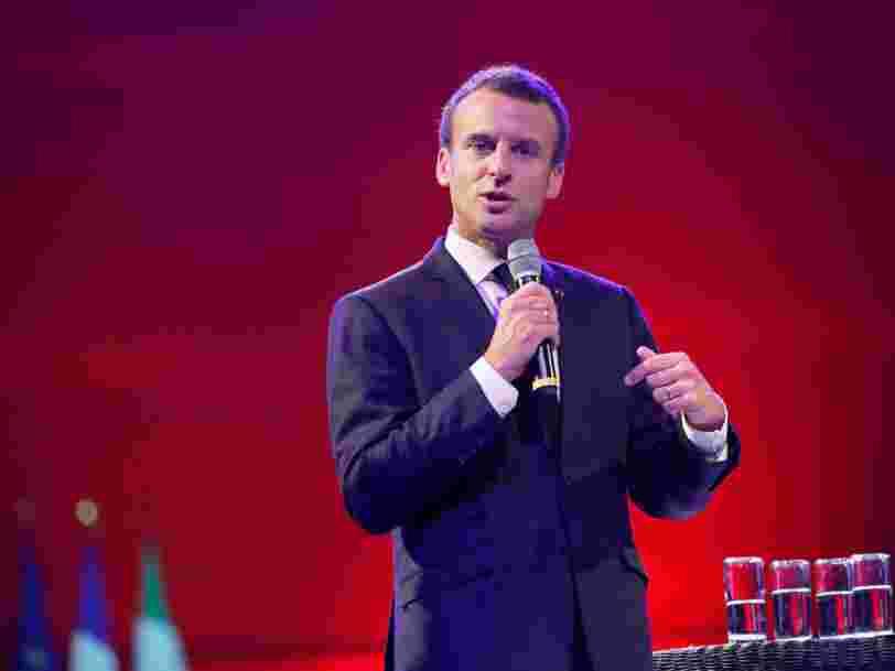 Emmanuel Macron aurait convaincu les géants de la finance BlackRock et Citigroup de se renforcer à Paris