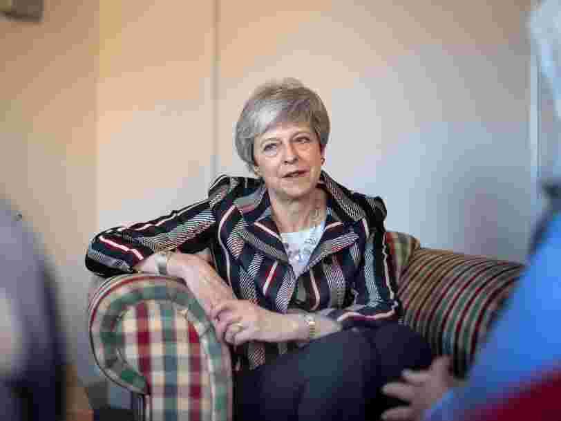 Brexit : avec son nouveau calendrier, Theresa May veut éviter que les députés britanniques siègent au Parlement européen