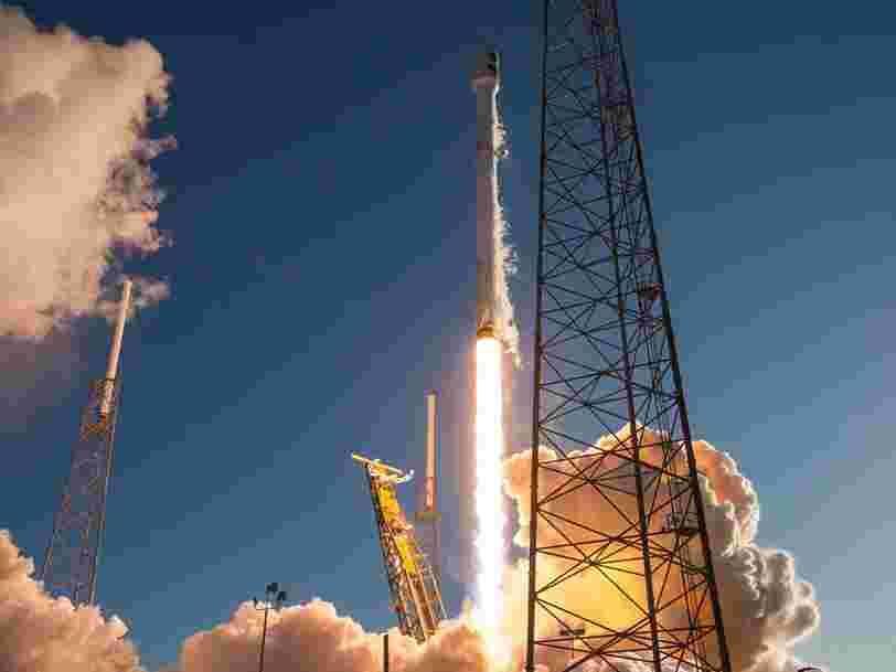SpaceX a envoyé une cargaison à la Station spatiale internationale — ce lancement est particulier pour 2 raisons