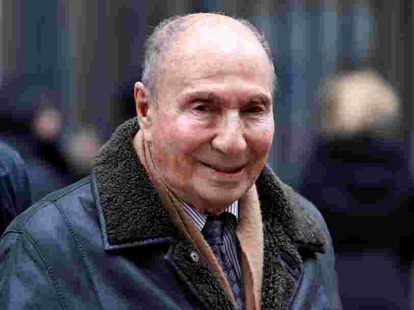 L'industriel et homme politique Serge Dassault est mort à l'âge de 93 ans