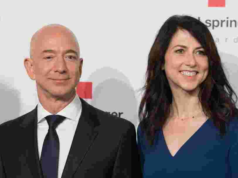 Le divorce de Jeff Bezos pourrait faire de MacKenzie Bezos une des principaux actionnaires d'Amazon