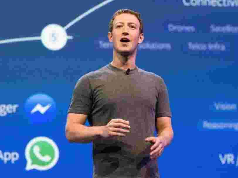Mark Zuckerberg vient de renier un pilier de la pensée de la Silicon Valley — et Facebook pourrait se prendre le retour de bâton