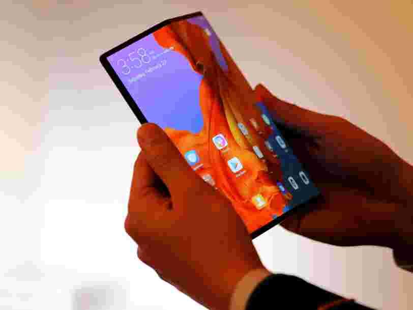 Huawei espère sortir rapidement un smartphone pliable à moins de 1000 €