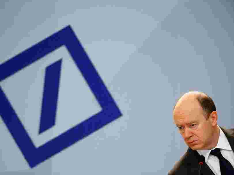 Il y a enfin de la lumière au bout du tunnel pour Deutsche Bank