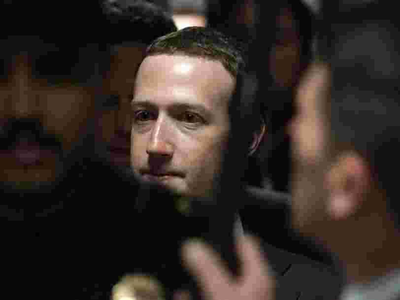 Voici comment suivre les auditions de Mark Zuckerberg devant le Congrès américain cette semaine