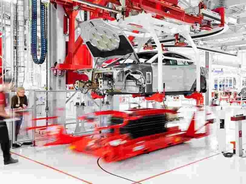 Le responsable de la production de Tesla, le Français Gilbert Passin, a quitté l'entreprise