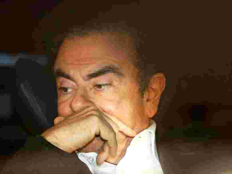 Renault refuse d'offrir sa retraite en or à Carlos Ghosn