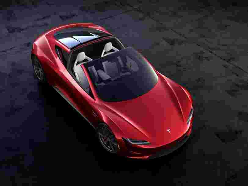 Tesla vient de dévoiler son nouveau Roadster et il va vraiment faire bouger les lignes