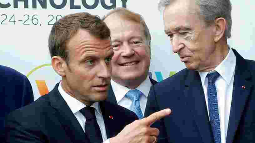 Emmanuel Macron vient de distribuer ses bons points aux acteurs de la French Tech — voici qui a été salué par le président français