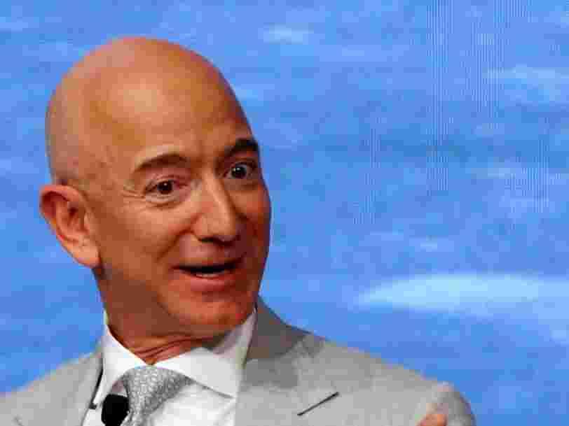 Jeff Bezos a de nouveau vendu des actions Amazon