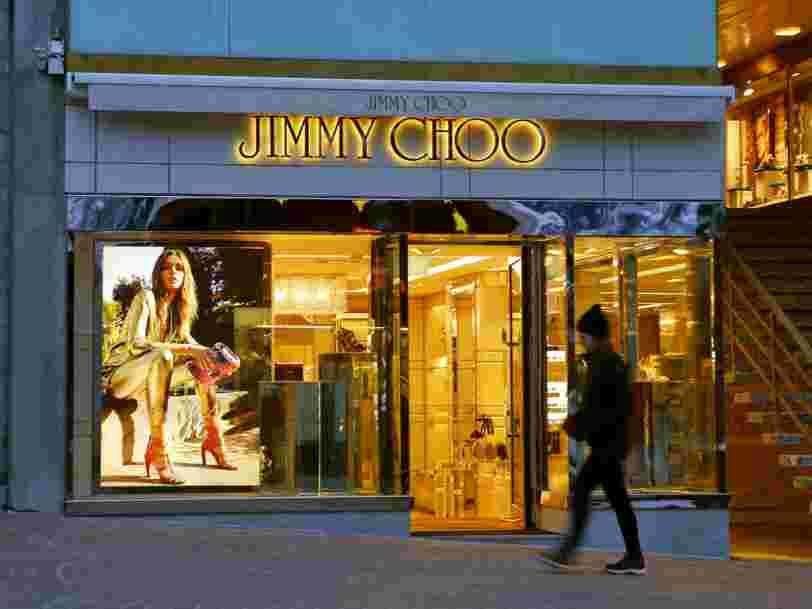 Le groupe américain de prêt-à-porter Michael Kors rachète le chausseur de luxe anglais Jimmy Choo pour 1Md€