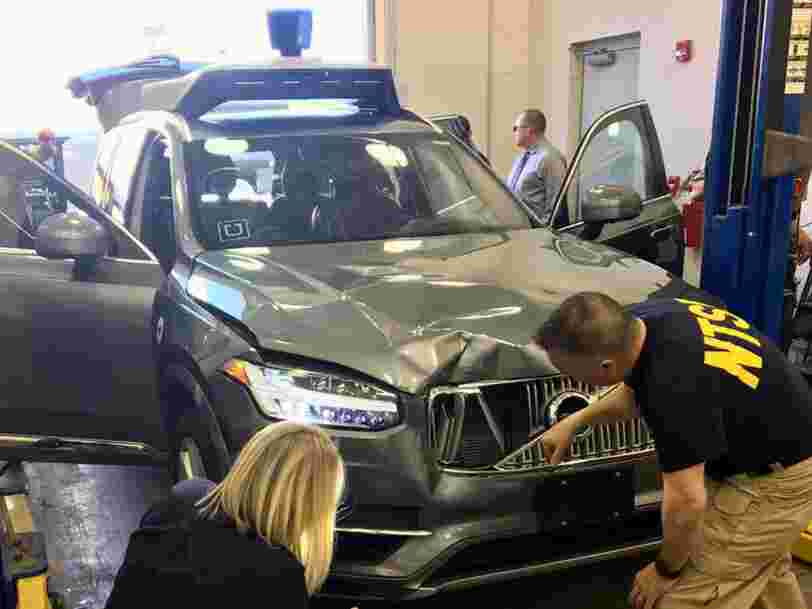 Uber remet des voitures autonomes sur les routes —pour la première fois depuis un accident mortel en mars