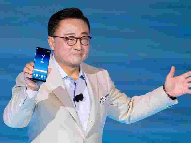 Samsung pourrait voler la vedette au nouvel iPhone d'Apple en dévoilant son téléphone pliable dès 2018