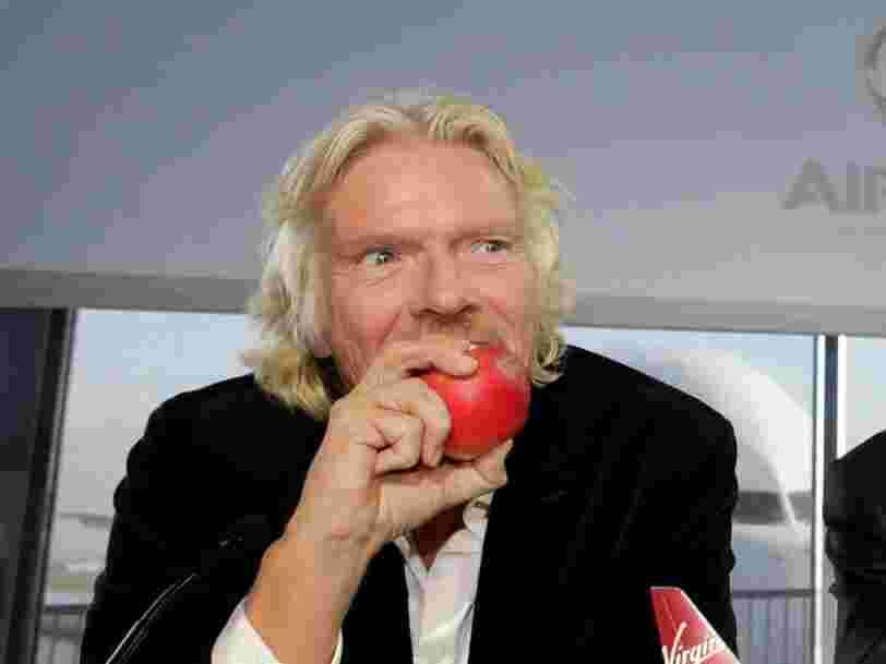 Voici ce que des personnalités comme Richard Branson, Jack Dorsey et Jeff Bezos mangent au petit-déjeuner