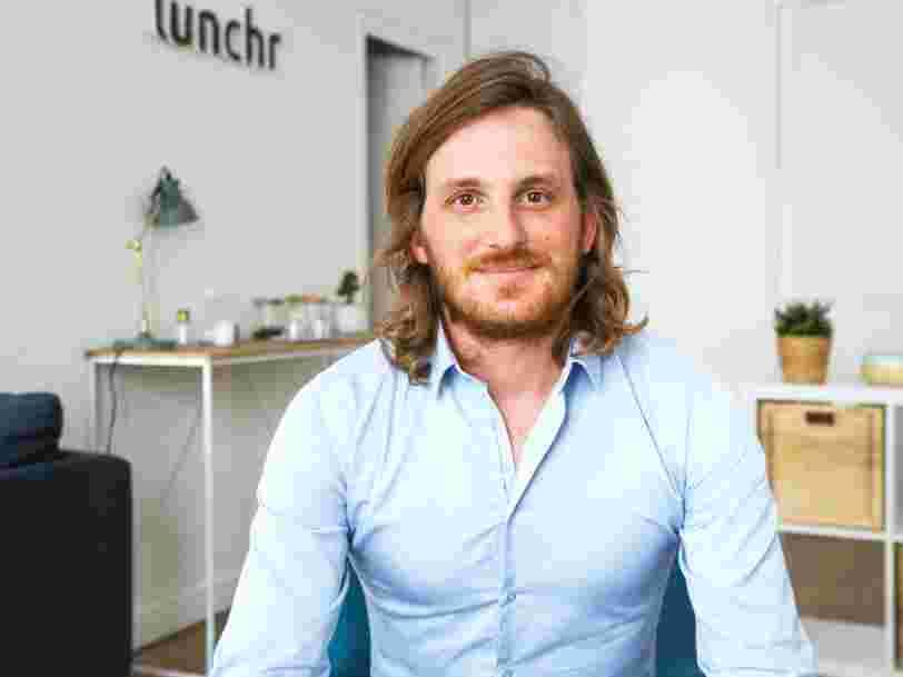 Cet entrepreneur de 32 ans qui vient de lever 11M€ dit qu'il va plus vite grâce à la vente de sa précédente startup pour 285M€