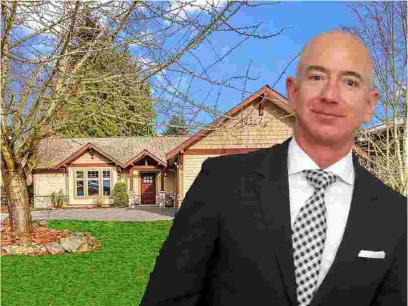 La modeste maison où Jeff Bezos a démarré Amazon est en vente à Washington. Découvrez à quoi elle ressemble.