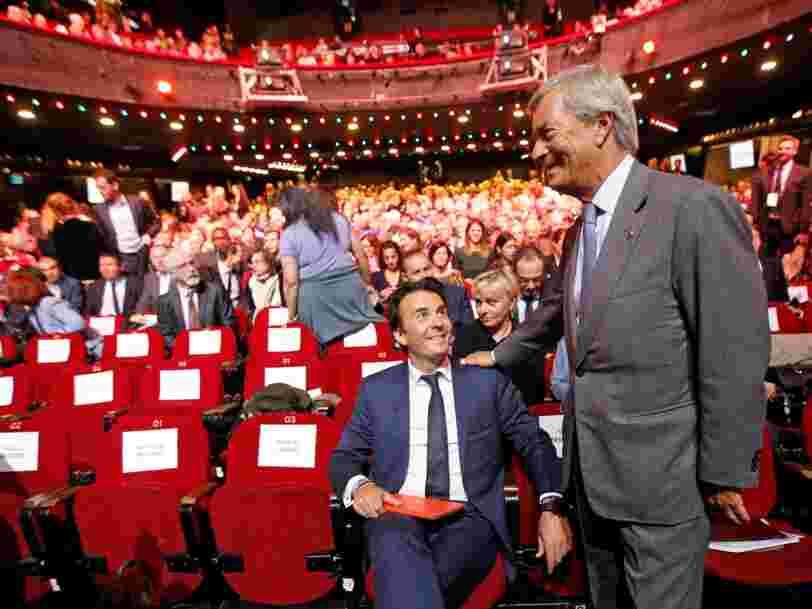 Vincent Bolloré dit que confier Vivendi à son fils rapportera plus d'argent aux actionnaires