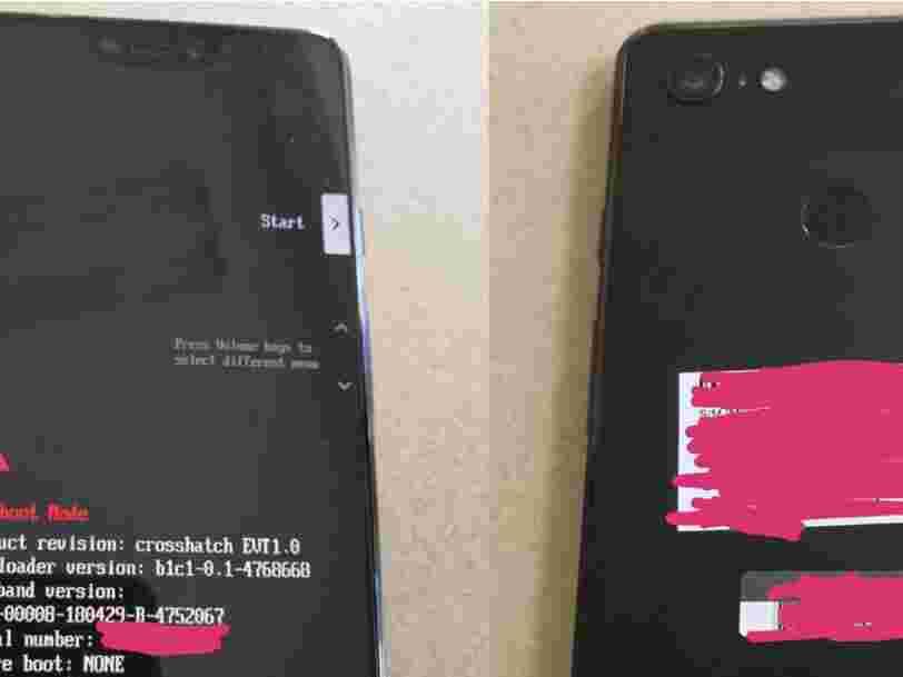 Il semble que les photos du prochain smartphone de Google ont fuité — et elles suggèrent qu'il aura une fonction controversée de l'iPhone X