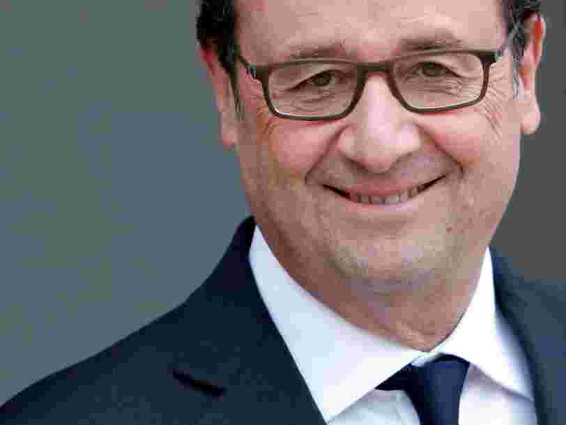 Le chômage a légèrement reculé en France — et c'est un obstacle en moins à la candidature de François Hollande à la présidentielle