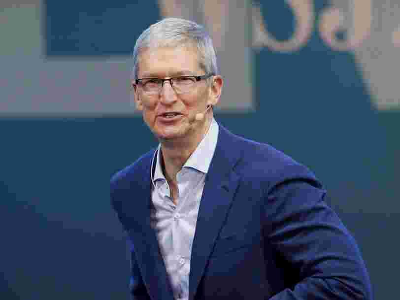 Une voiture équipée de la technologie de conduite autonome d'Apple a été aperçue dans la Silicon Valley