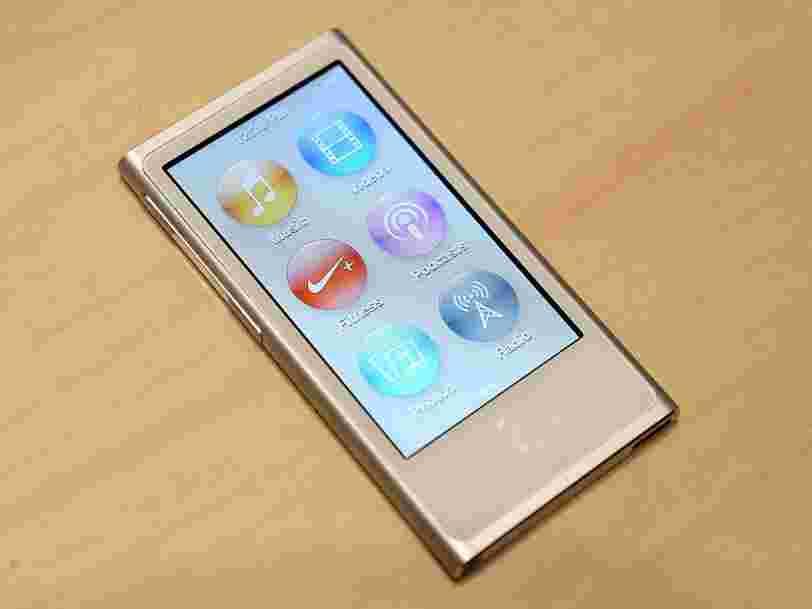 Apple arrête officiellement l'iPod Nano et l'iPod Shuffle
