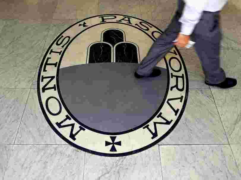 Le sauvetage de la banque italienne Monte dei Paschi di Siena coûtera beaucoup plus cher que prévu selon la BCE