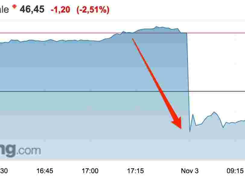 Société générale chute en Bourse après l'annonce de ses résultats au T3