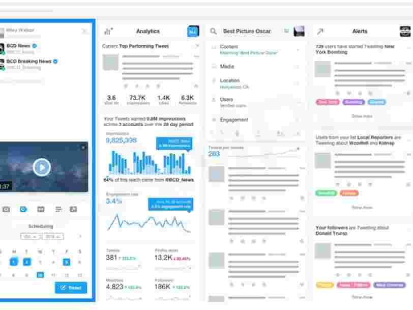 Twitter envisage de lancer une version payante pour les professionnels