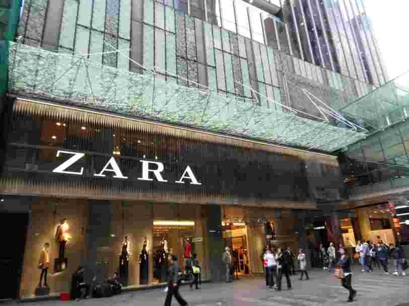 Les jeunes attendent une seule chose d'un distributeur — et c'est ce qui permet à Zara d'écraser sa concurrence