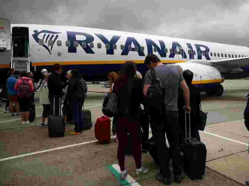 Ryanair va désormais vous demander de payer un supplément pour placer des bagages en cabine