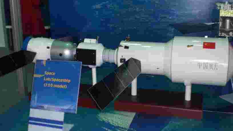 La station spatiale chinoise Tiangong-2 est sur le point de retomber sur Terre