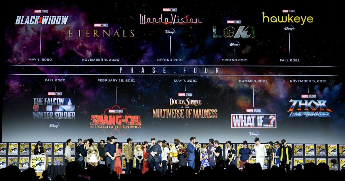 Thor', 'Blade' Le calendrier des films Marvel jusqu'en 2021