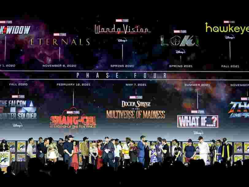 'Thor', 'Blade'... Le calendrier des films Marvel jusqu'en 2021