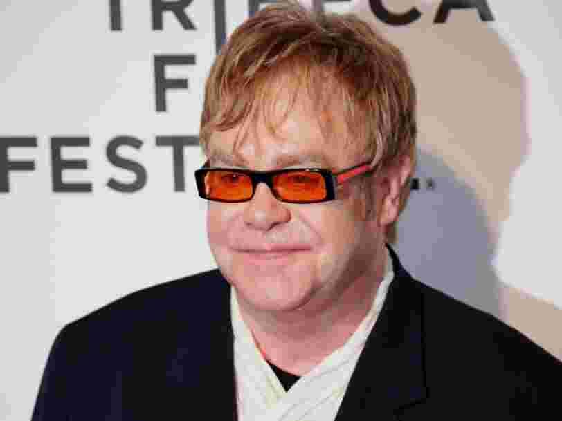 AXA investit avec Elton John dans une startup américaine qui prédit vos goûts culturels