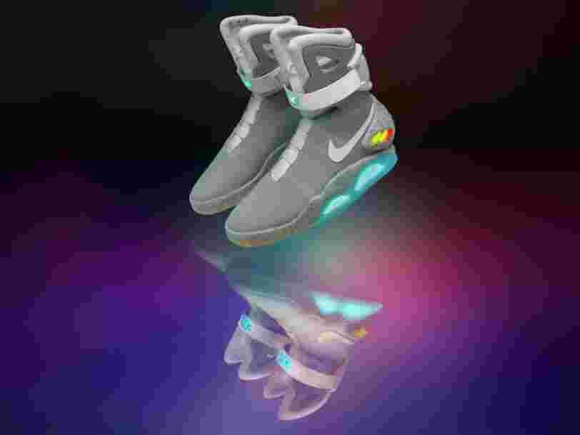 La basket auto-laçante Nike de 'Retour vers Le Futur 2' est enfin disponible — mais à une condition
