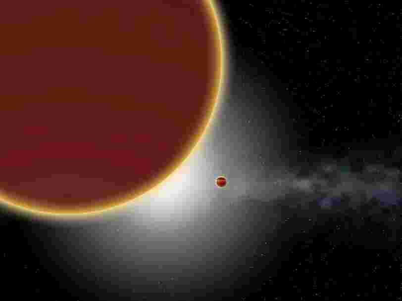 Une nouvelle planète géante a été découverte par des astronomes et elle fait près de 10 fois la masse de Jupiter