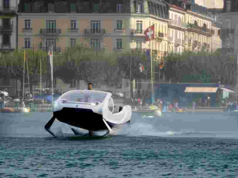 Sea Bubbles: des tests repoussés à Paris à la recherche de 250 M€  — retour sur 8 mois de péripéties d'une startup pas ordinaire
