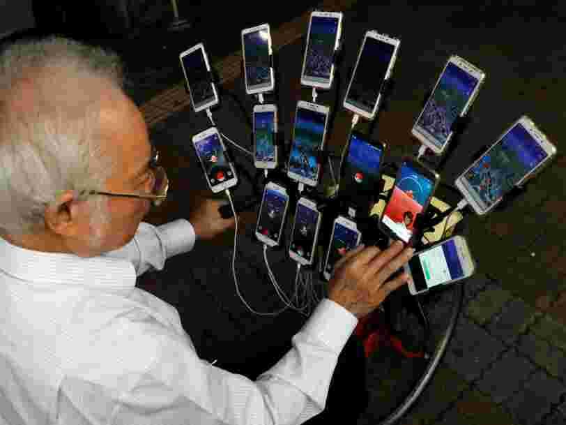 GRAPHIQUE DU JOUR: Le marché des smartphones pourrait avoir atteint son pic
