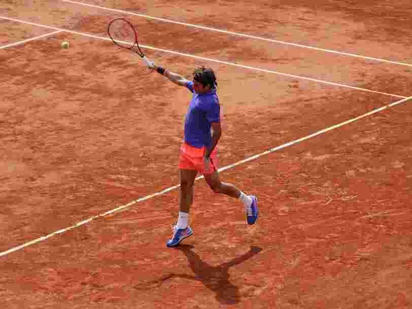 Ce que vous risquez en regardant Roland-Garros en direct au bureau