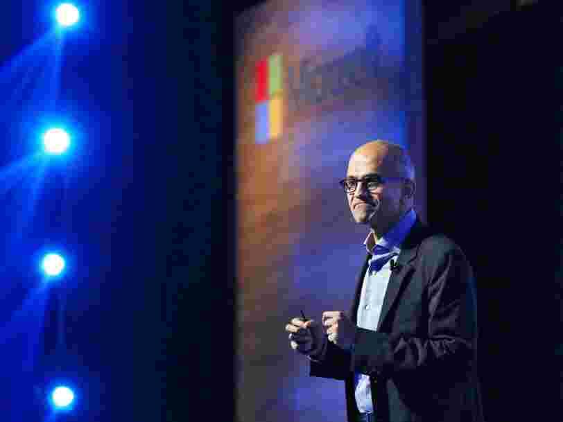 Microsoft supprime des milliers d'emplois