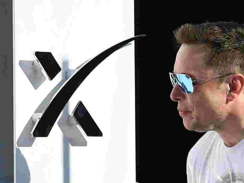 SpaceX serait en train de lever 500 M$ avec l'aide de l'un des actionnaires les plus importants de Tesla