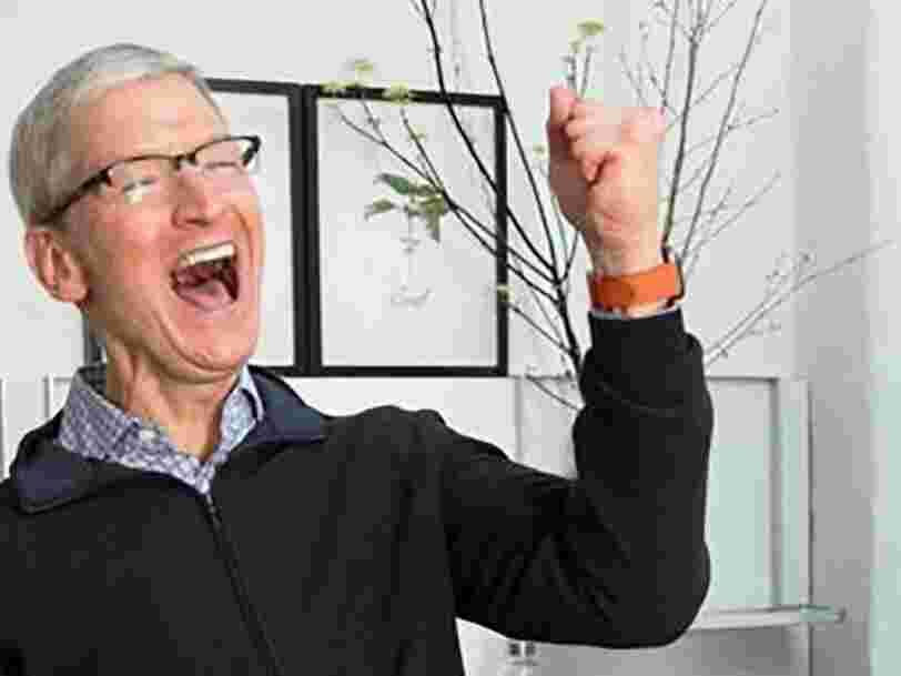 Apple bat le consensus au T4 et surprend avec ses prévisions