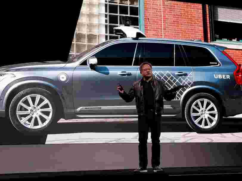 Le DG de Nvidia dit qu'Uber n'utilise pas sa technologie pour traiter les données des voitures autonomes — mais il demande d'arrêter tous les tests sur route