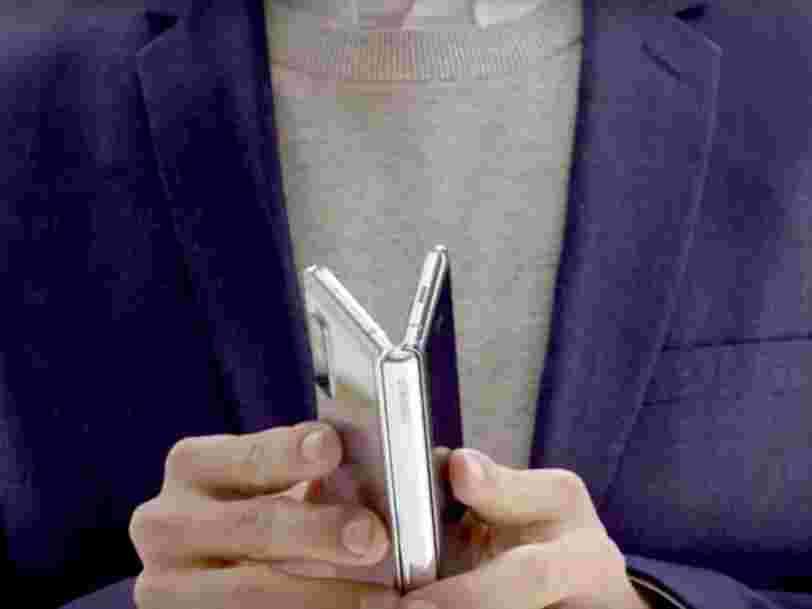 Le Galaxy Fold de Samsung ne peut être plié à l'infini... et les 6 autres choses à savoir dans la tech ce matin