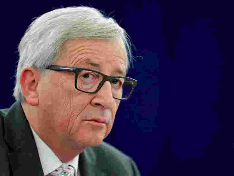 Le président de la Commission Européenne Jean-Claude Juncker a dépensé 25.000€ en 'taxi aérien'