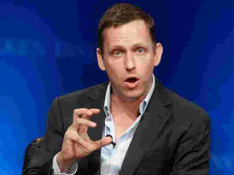 Le milliardaire Peter Thiel conseillerait au jeune homme qu'il était d'avoir moins l'esprit de compétition