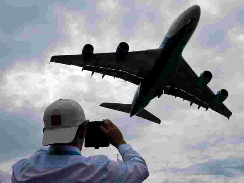 Air France-KLM veut remplacer ses A380, trop énergivores