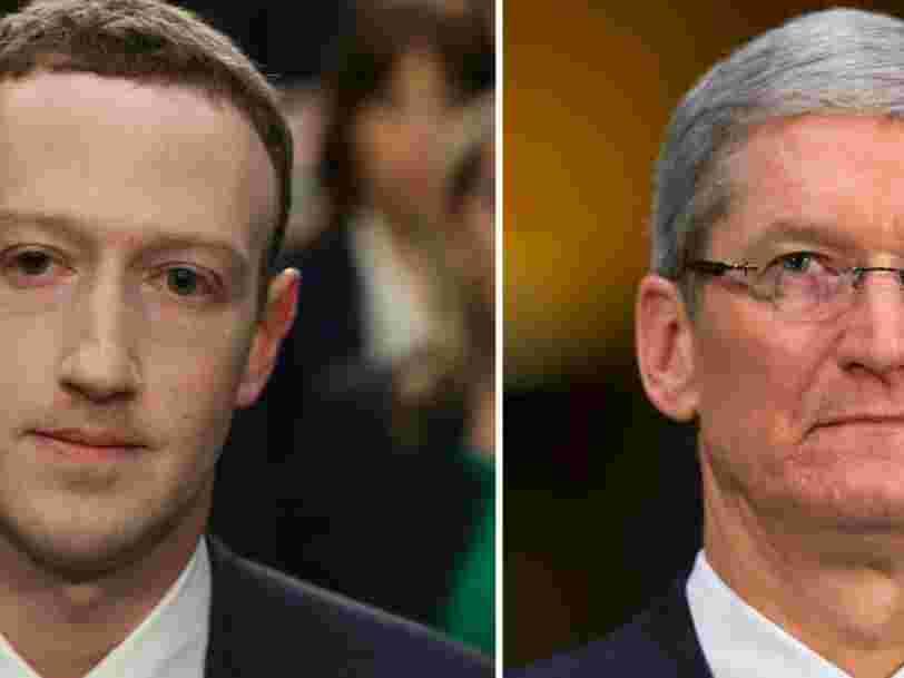 La valeur d'Apple a perdu 450 Mds$ en à peine 3 mois — et c'est bien plus que ce que vaut Facebook