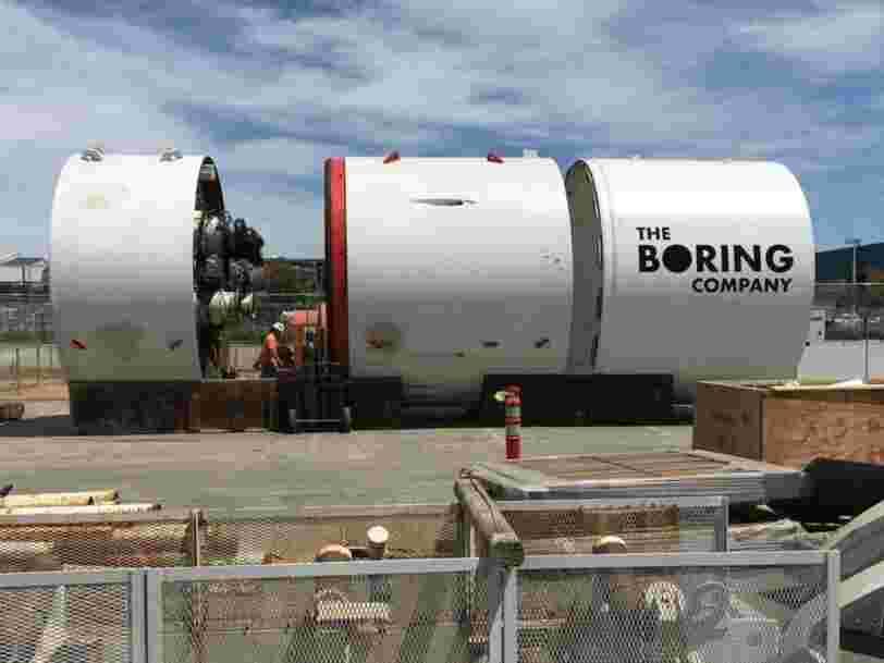 Elon Musk utiliserait les fonds de SpaceX pour creuser le tunnel de sa Boring Company, suscitant l'inquiétude chez certains investisseurs